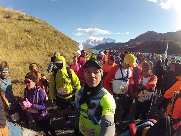 Minha participação na Patagonian International Marathon, em 2014