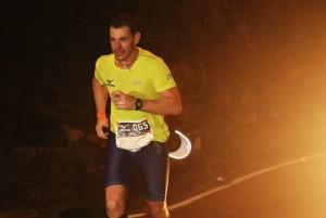 Durante a Mizuno Uphill Marathon, em 2015