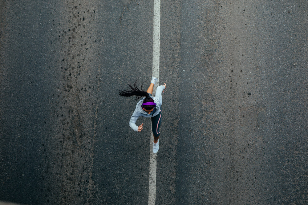 corredora com anemia