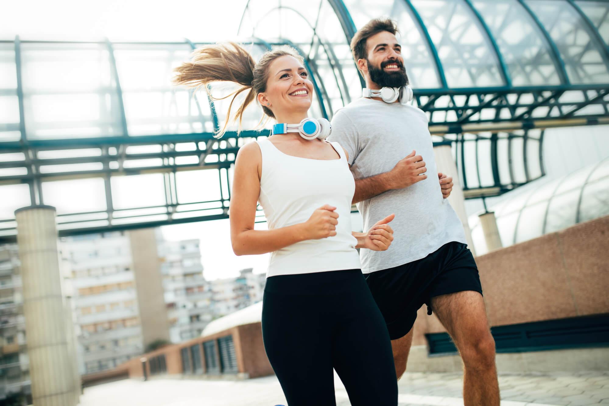pessoas aprendendo como correr mais rápido