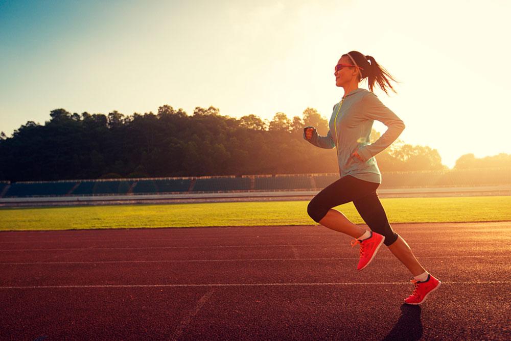 postura correta para correr