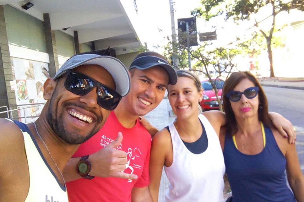 correr na Silva Lobo